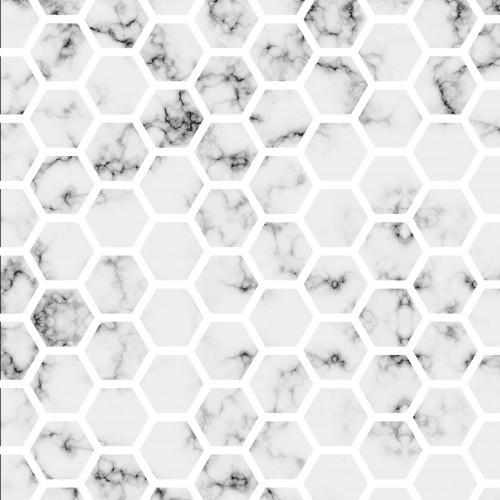 Classic Marble Honeycomb HTV