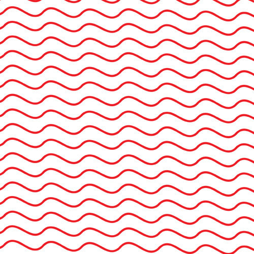 Thin Red Wavy Stripes PSV