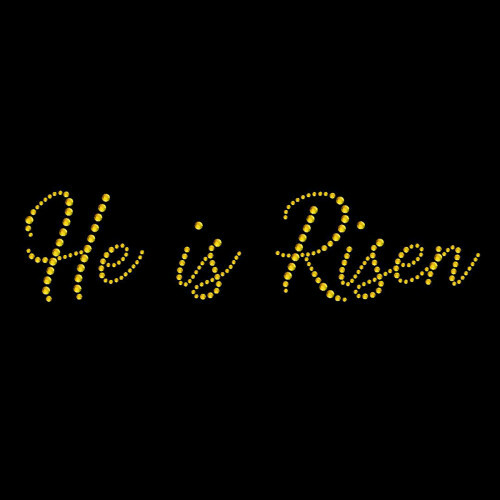 He Is Risen Gold