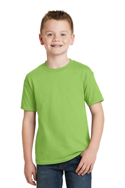 Hanes® - Youth EcoSmart® 50/50 Cotton/Poly T-Shirt