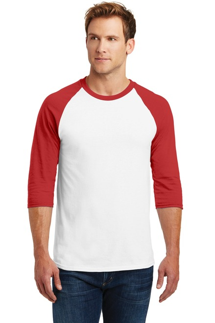 Gildan® Heavy Cotton ™ 3/4-Sleeve Raglan T-Shirt