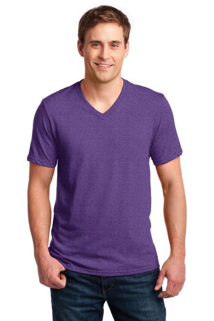 Anvil® 100% Combed Ring Spun Cotton V-Neck T-Shirt