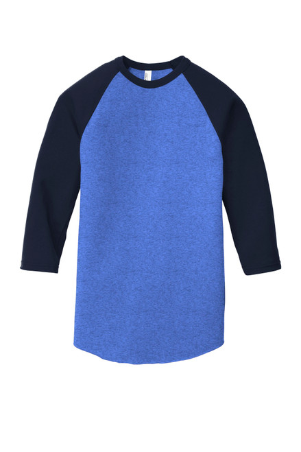 American Apparel ® Poly-Cotton 3/4-Sleeve Raglan T-Shirt
