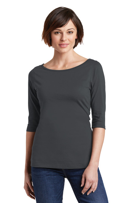 District® Women's Perfect Weight® 3/4-Sleeve Tee