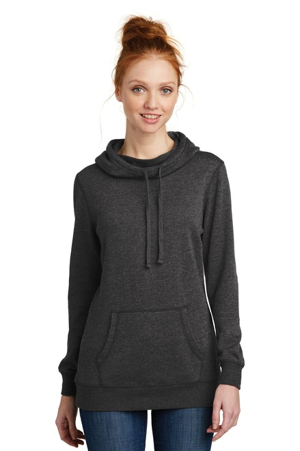 District ® Women's Lightweight Fleece Hoodie