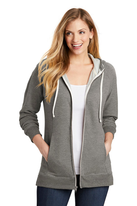 District ® Women's Perfect Tri ® French Terry Full-Zip Hoodie