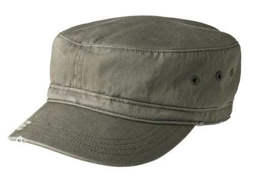 District® Distressed Military Hat