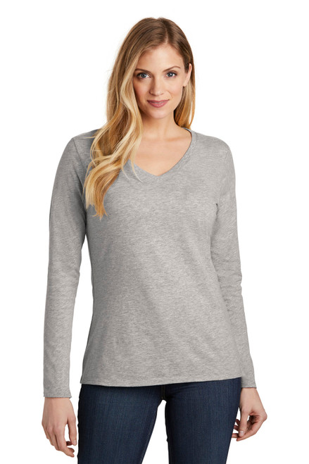 District ® Women's Very Important Tee ® Long Sleeve V-Neck