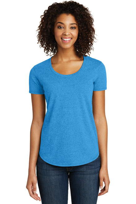 District® Women's Fitted Very Important Tee® Scoop Neck