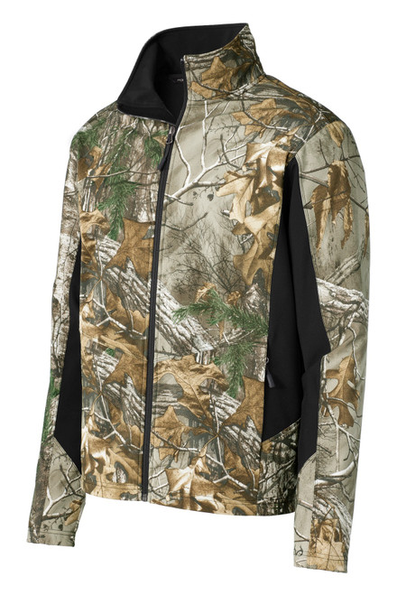 Port Authority®  Camouflage Colorblock Soft Shell