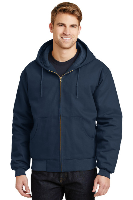 CornerStone® - Duck Cloth Hooded Work Jacket
