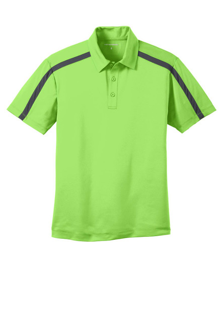 Port Authority®  Silk Touch Performance Colorblock Stripe Polo
