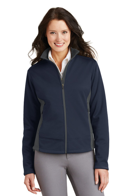 Port Authority®  Ladies Two-Tone Soft Shell Jacket