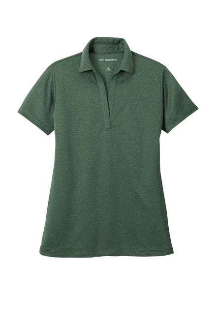 Port Authority ®  Ladies Heathered Silk Touch Performance Polo