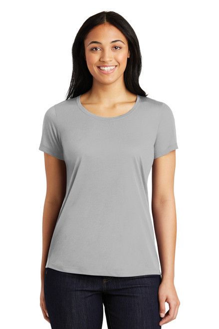 Sport-Tek® Ladies PosiCharge® Competitor ™ Cotton Touch ™ Scoop Neck Tee