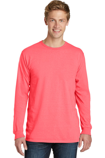Port & Company® Beach Wash ™ Garment-Dyed Long Sleeve Tee