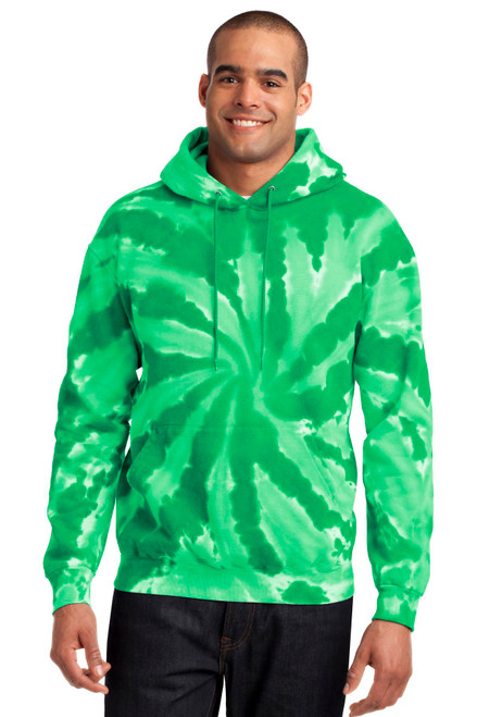 Port & Company® Tie-Dye Pullover Hooded Sweatshirt