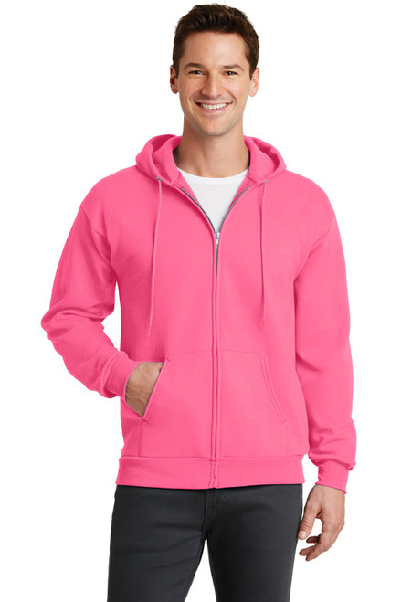 Port & Company® - Core Fleece Full-Zip Hooded Sweatshirt
