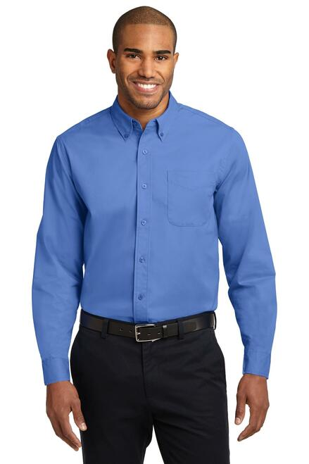 Port Authority®  Extended Size Long Sleeve Easy Care Shirt