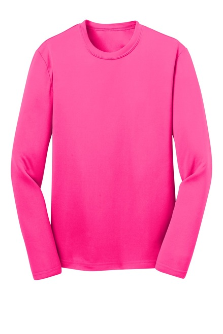 Sport-Tek®  Youth Long Sleeve PosiCharge®  Competitor Tee