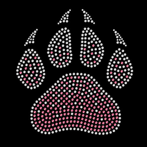 Faded Paw Pink