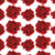 Painted Red Roses HTV