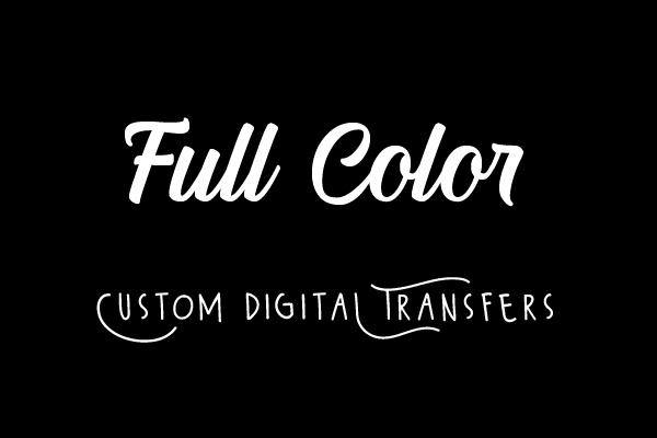 Custom Heat Transfer Images Full Color Prints
