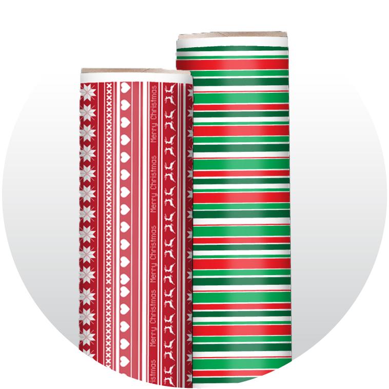 Christmas Adhesive Patterned Vinyl