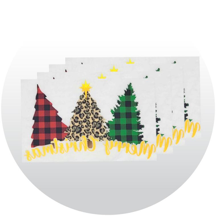 Christmas Supacolor Stock Transfers