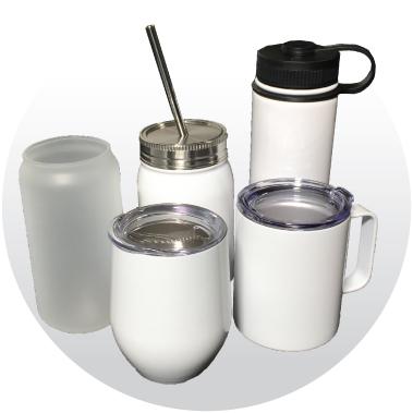 Dye Sublimation Drinkware