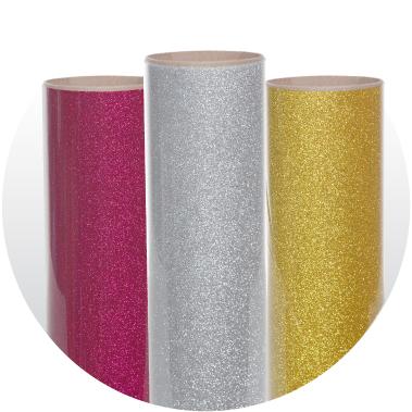 Glitter Heat Transfer Vinyl