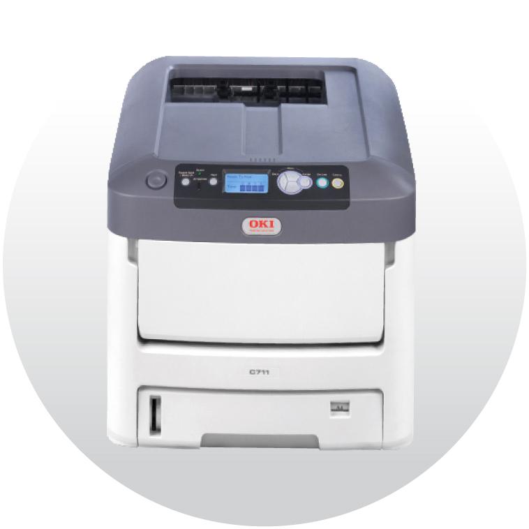 White Toner Printer