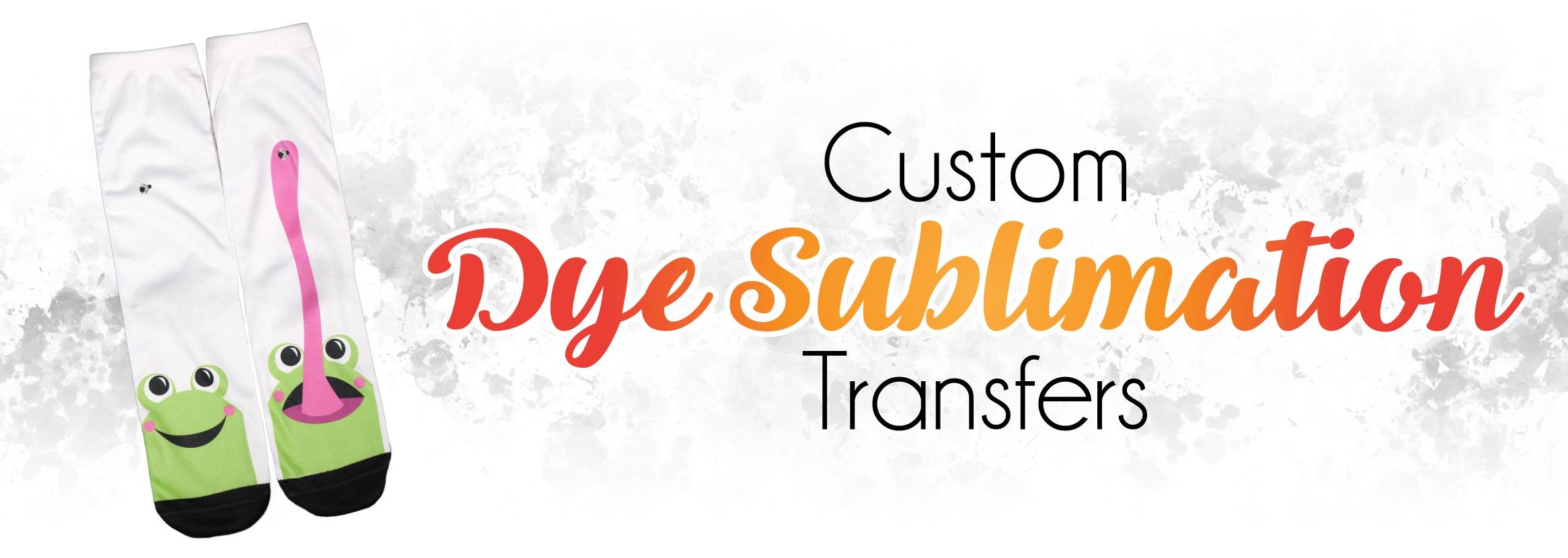 Custom Dye Sublimation Transfer