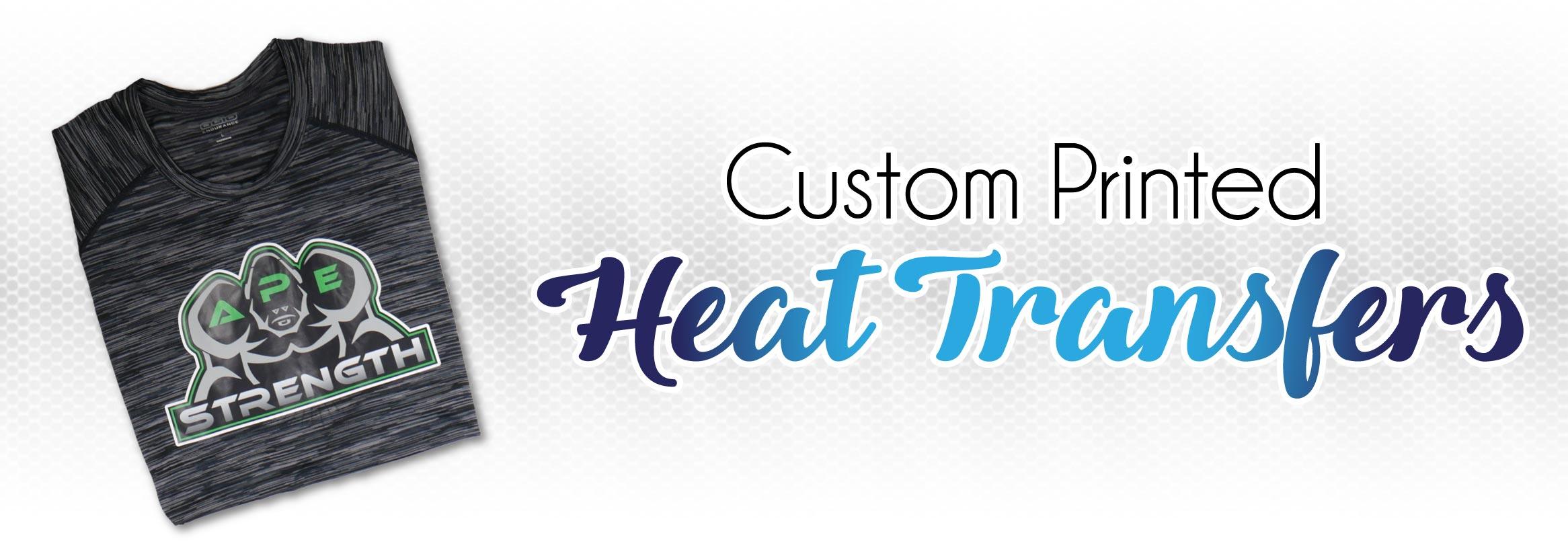 Custom Printed Heat Transfers