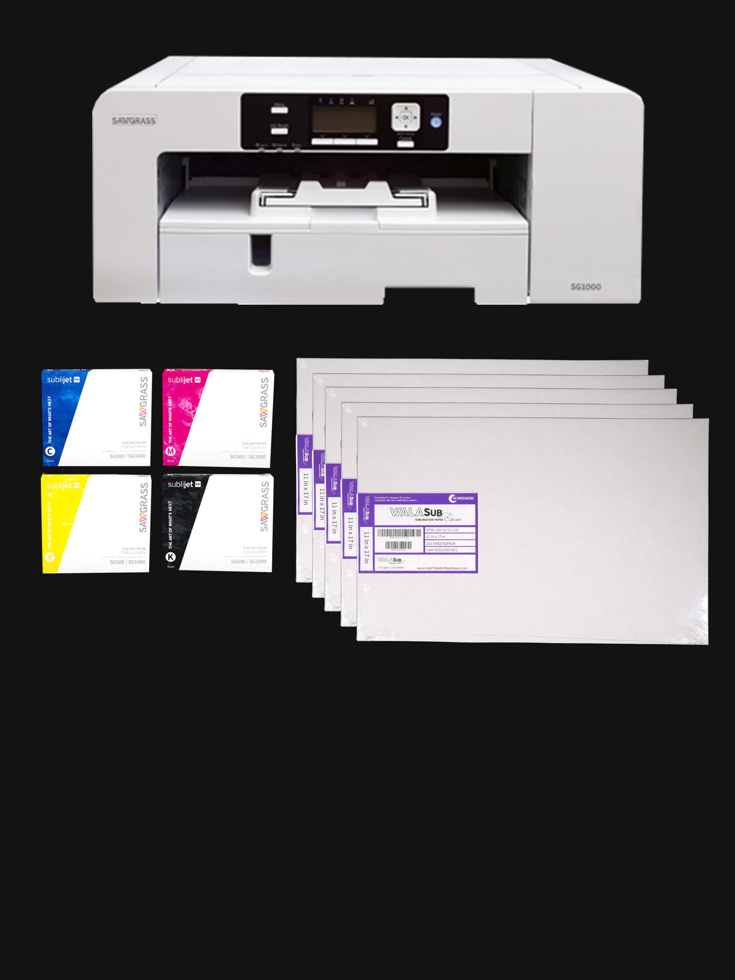 Sawgrass Dye Sublimation Printer Bundles