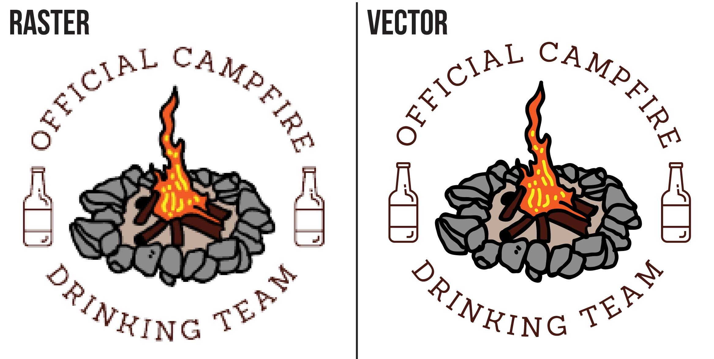 Vector redraw