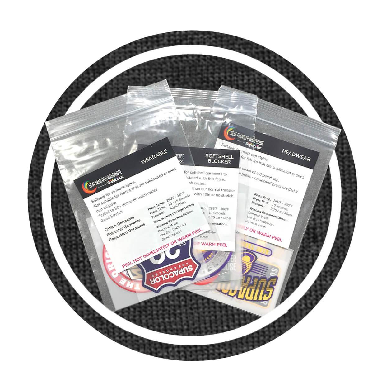 Supacolor Sample Packs