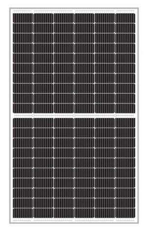 Znshine Solar 9BB Half-Cell Mono PERC Module 365W All Black