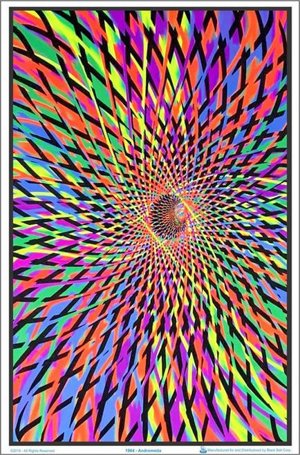 "Andromeda Blacklight Poster - 23"" X 35"""