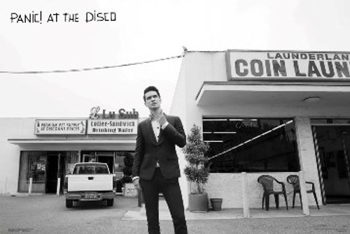 "Panic! At The Disco Black & White Poster - 36"" X 24"""