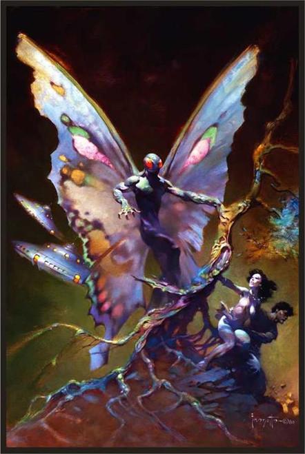 """Mothman - By: Frank Frazetta - Poster - 24"""" X 36"""""""