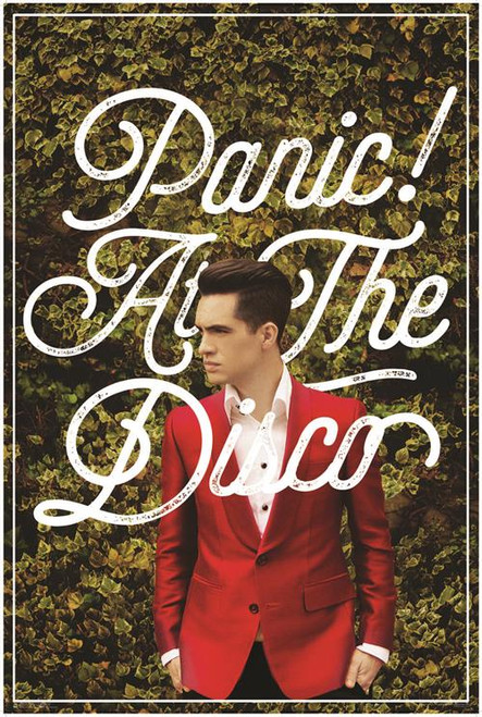 "Panic! At The Disco Poster - 24"" X 36"""