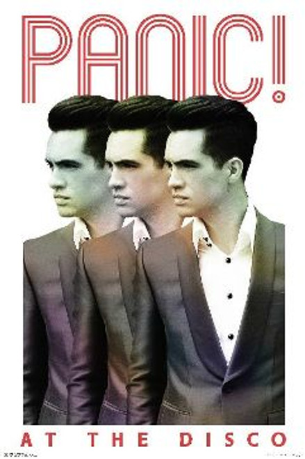 "Panic! At The Disco - Repeat Poster - 24"" X 36"""