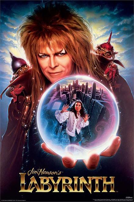 "Labyrinth Movie Poster - 24"" X 36"""