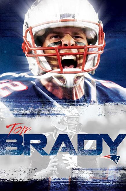 Tom Brady Poster -  22.375'' x 34''