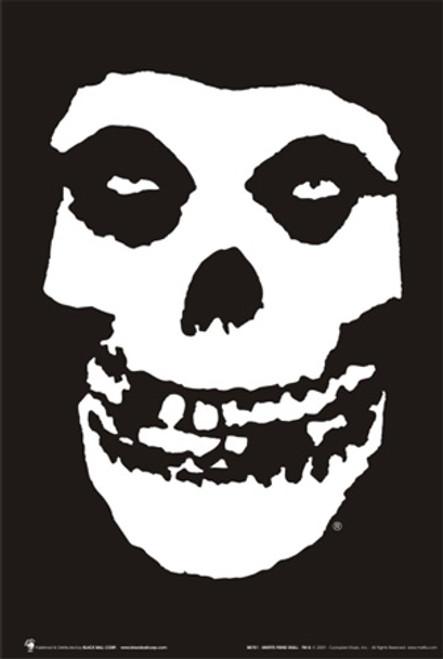 """Misfits Skull Poster - 24"""" X 36"""""""