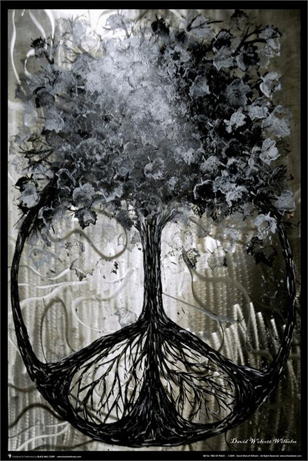 """Tree Of Peace By: David Wilhelm Poster - 24"""" X 36"""""""