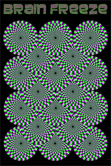 "Brain Freeze Poster - 24"" X 36"""