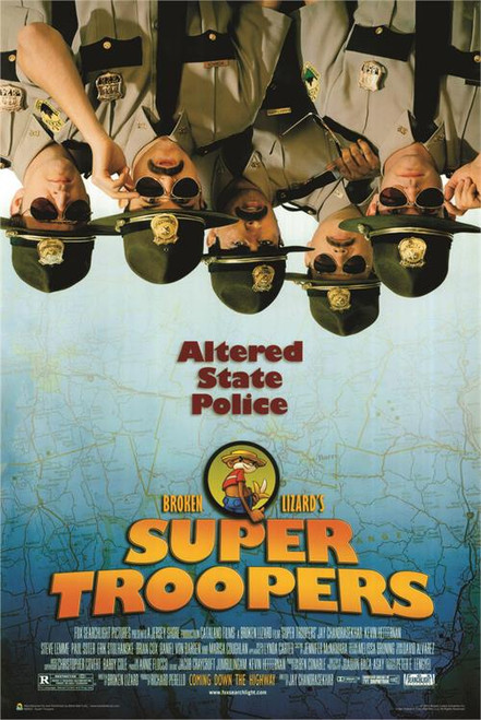 """Super Troopers Movie Poster - 24"""" x 36"""""""