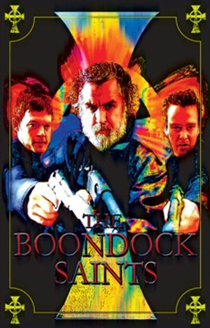 "Boondock Saints Blacklight Poster - 23"" X 35"""